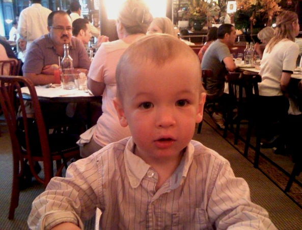 An early brunch at Balthazar, New York