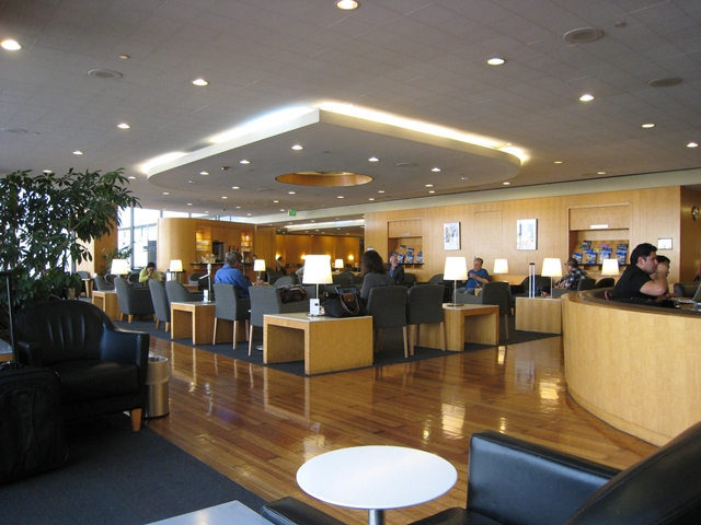 United Club Airport Lounge at LAX