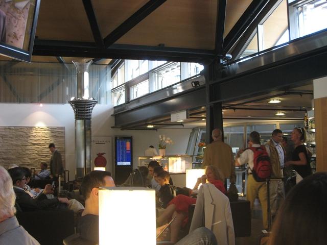 SWISS Business Class Lounge Zurich