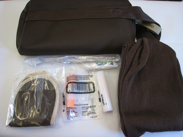 SWISS Business Class Amenity Kit ZRH-YUL