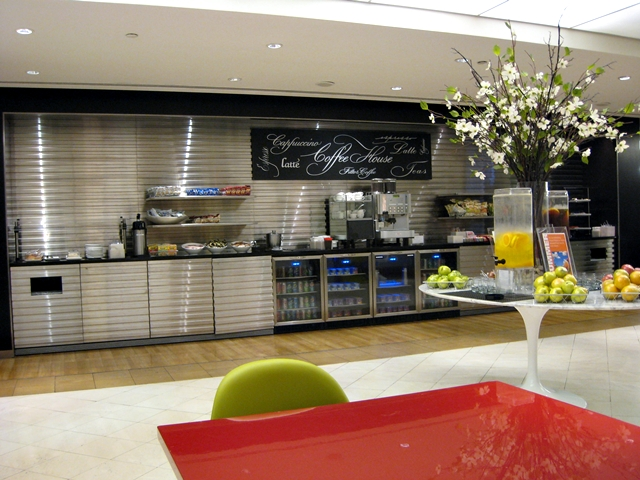 British Airways Galleries Lounge at JFK Airport NYC
