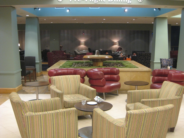 British Airways Galleries Lounge at JFK Airport