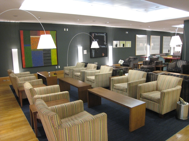 British Airways Galleries Lounge at JFK