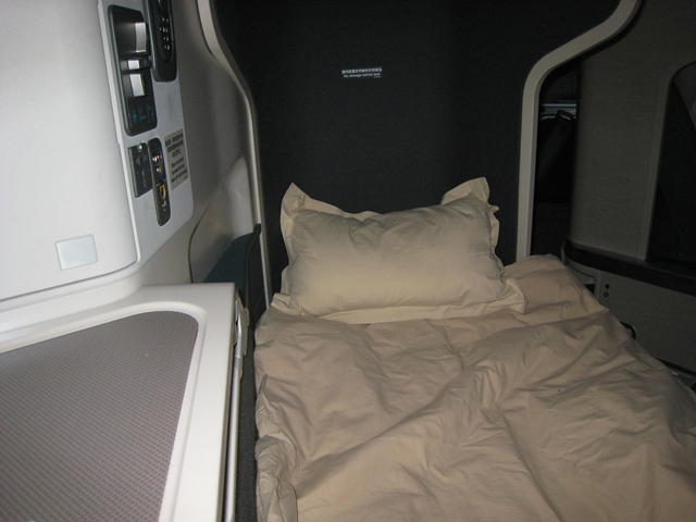 Cathay Pacific Business Class Review