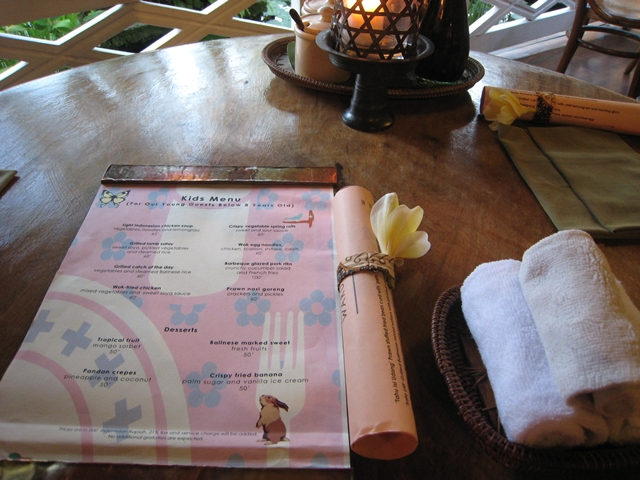 Warung Mie Four Seasons Bali - Menu