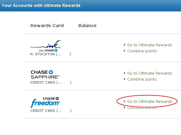 Sears 20X Bonus Points via Ultimate Rewards Mall and Freedom
