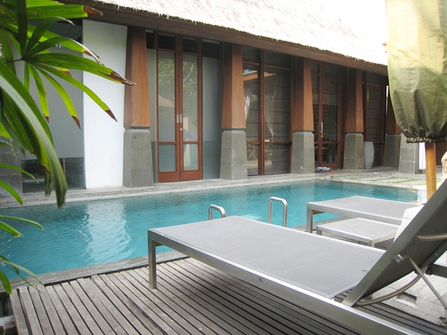 The Kayana Bali Hotel Review - Pool and Lounge Chairs