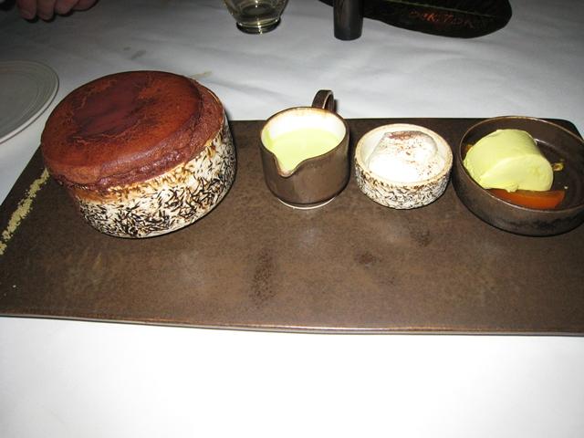 Metis Bali Restaurant Review - Chocolate Souffle