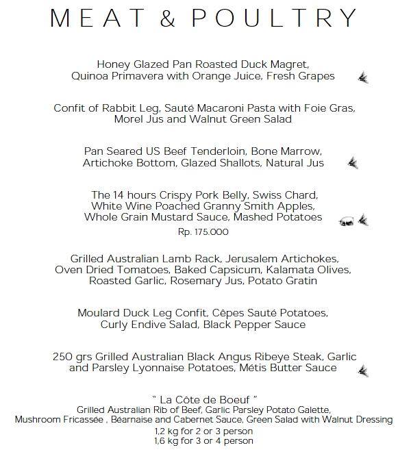 Restaurant table with food - Restaurant Review Metis In Seminyak Bali Travelsort