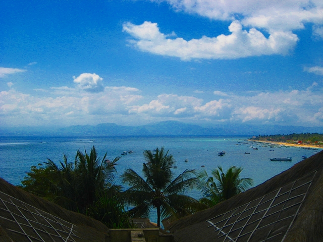 Batu Karang Review - View from Villa 3