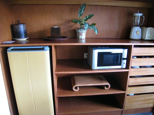 Komaneka at Bisma Hotel Review - Kitchenette