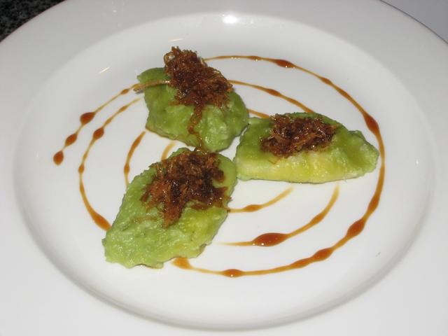 Komaneka at Bisma Review -  Balinese Breakfast - Glutinous Rice Dumplings