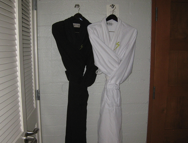 Sanctuary Camelback Mountain Review - bathrobes