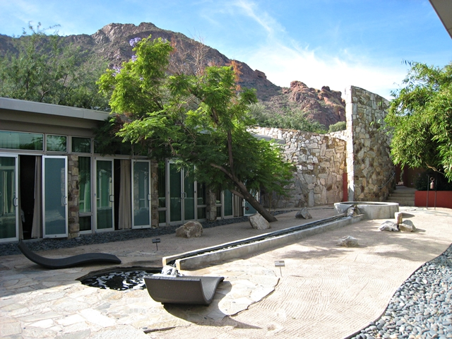 Sanctuary Camelback Mountain Review - Zen Garden