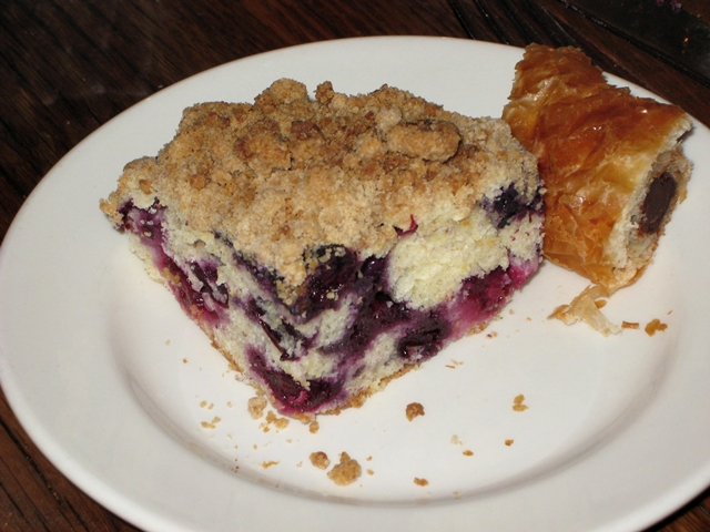 Maialino NYC Brunch Review - Blueberry Coffeecake
