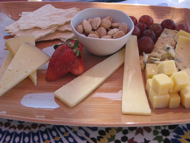 Montelucia Spa Review - Cheese Plate