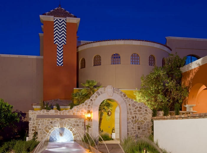 Montelucia Spa Review - Entrance