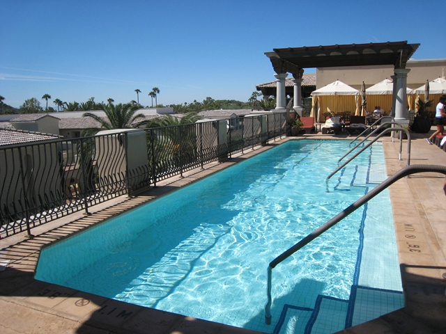 Montelucia Spa Review - Outdoor Pool