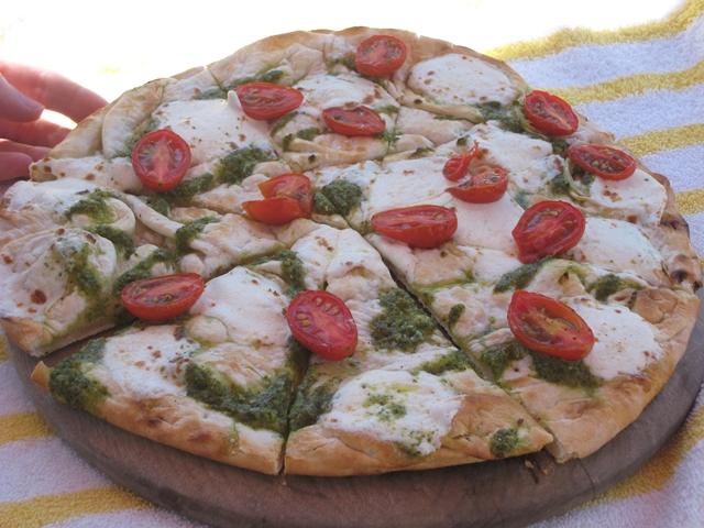 Montelucia Spa Review - Pesto Pizza