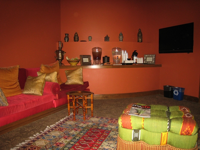 Montelucia Spa Review - Women's Relaxation Lounge