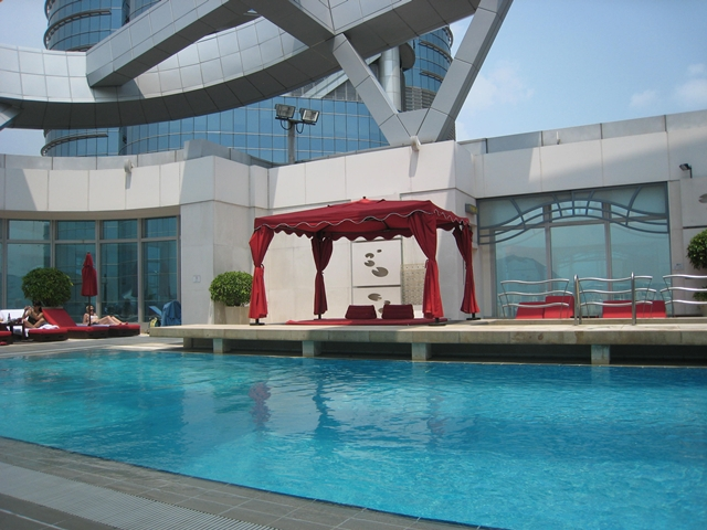 Langham Place Mongkok Review - Rooftop Pool