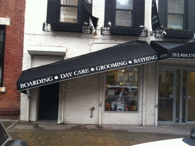 Hurricane Sandy NYC - Store sign
