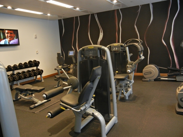 W Boston Hotel Review - Fitness Center