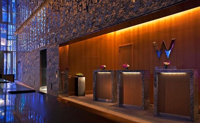 W Boston Hotel Review - Reception