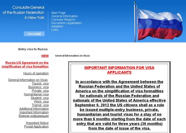 3-Year Russian Visa Application Requirements and Tips