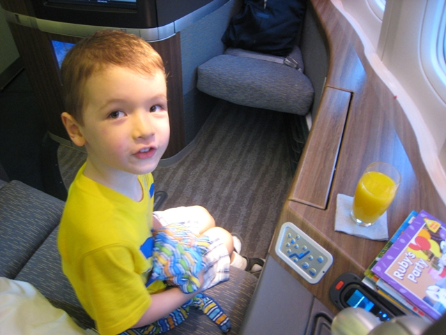 Cathay Pacific First Class Review: Pre-Flight Drink