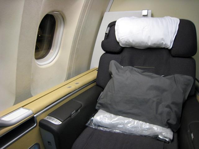 Lufthansa New First Class - Seat 2K