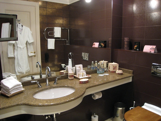 Radisson Royal Moscow Hotel Review - Bathroom