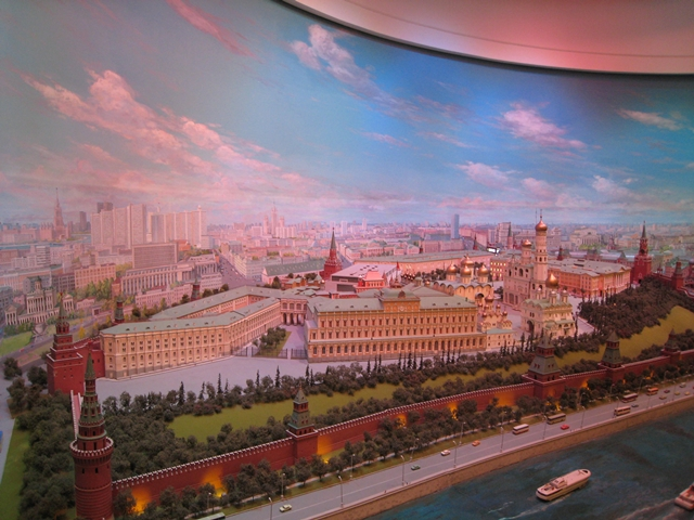 "Radisson Royal Moscow Hotel Review - Diorama ""Moscow, the Capital of the USSR"""