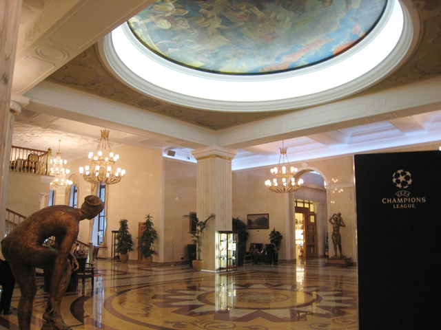 Radisson Royal Moscow Hotel Review - Lobby