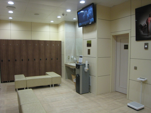 Radisson Royal Moscow Hotel Review - Women's Changing Room
