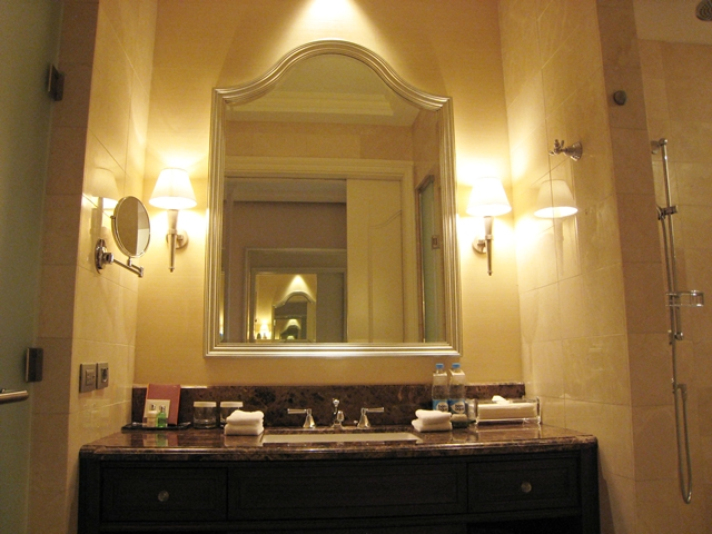 Lotte Hotel Moscow Review - Superior Room Bathroom