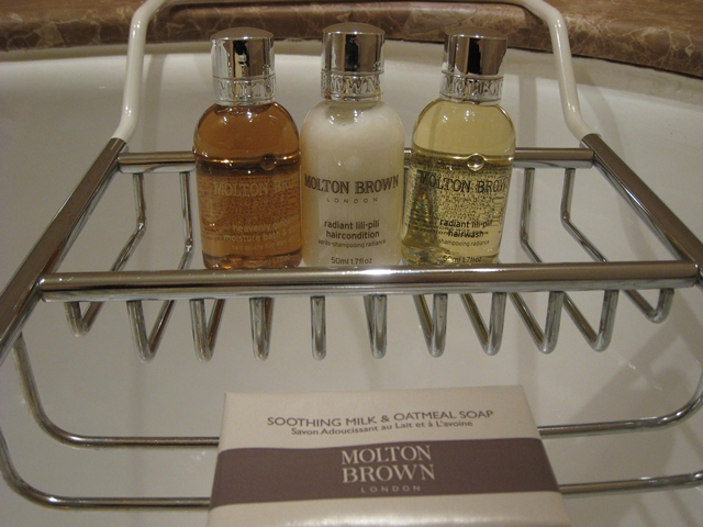 Lotte Hotel Moscow Review - Molton Brown Toiletries