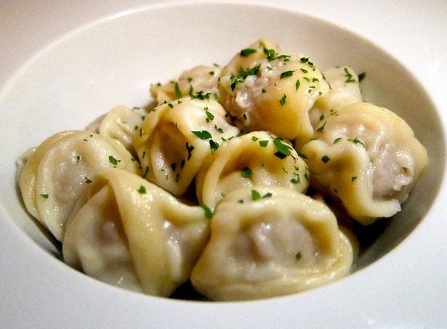 Moscow: Where to Eat - Pelmeni at Brasserie Pushkin