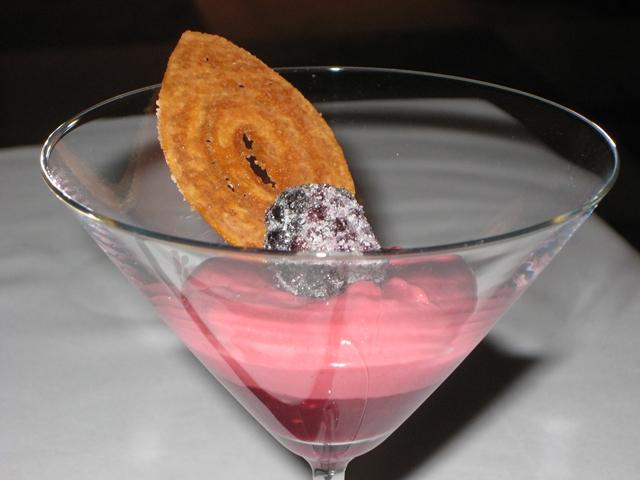 Les Menus par Pierre Gagnaire Review - Lotte Moscow - Raspberry Cream Dessert