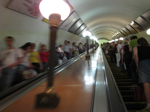 Getting Around Moscow by Metro: Top Subway Tips - Escalator