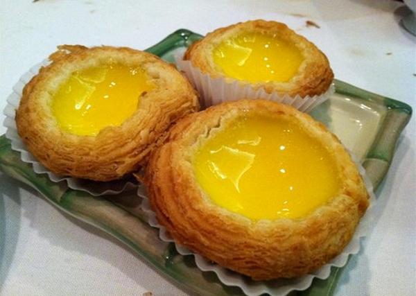 Oriental Garden Dim Sum NYC Review - Egg Tarts
