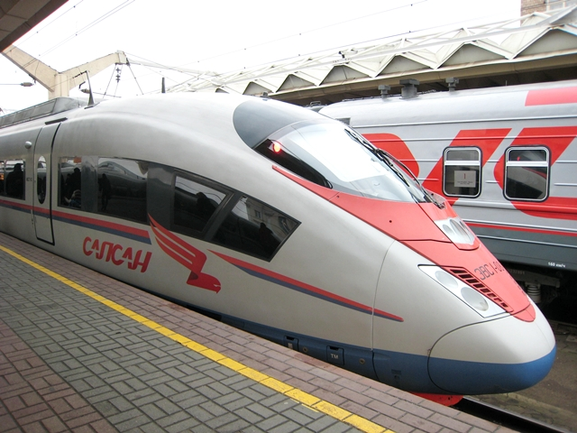Sapsan Train Moscow to St. Petersburg Review and Tips