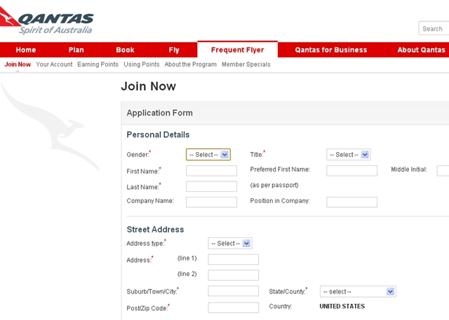 Find Cathay Award Availability Using Qantas.com - Register for Qantas Frequent Flyer Program