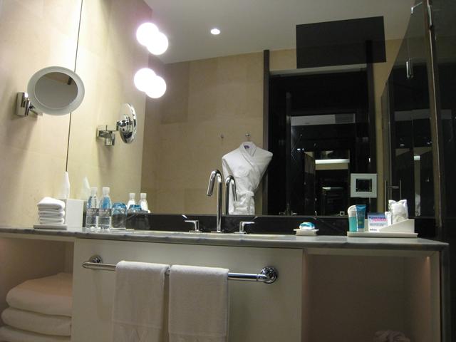 W St. Petersburg Hotel Review - Bathroom