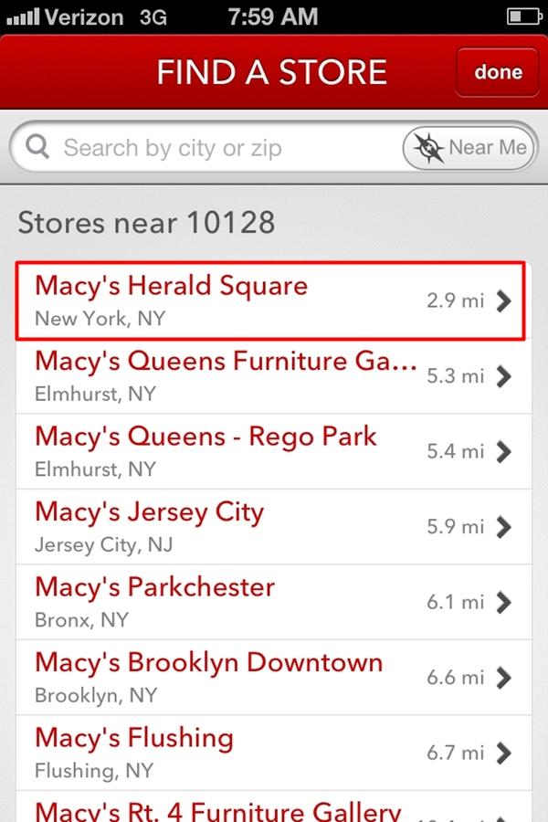 Macy's Santaland App-Express Pass Tips