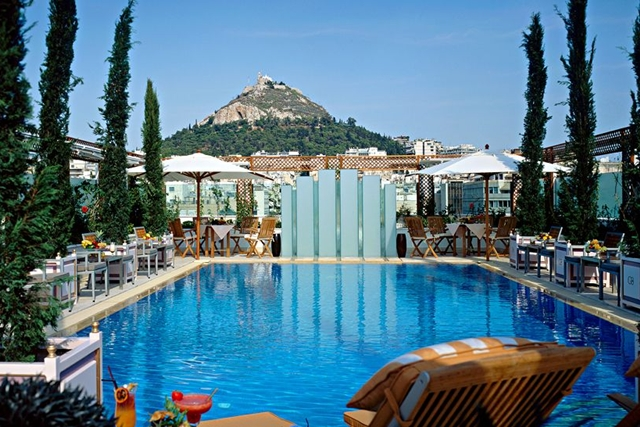 Best luxury hotels in athens for Luxury hotels in nice