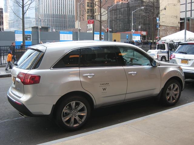 W New York Downtown - Acura Car Service