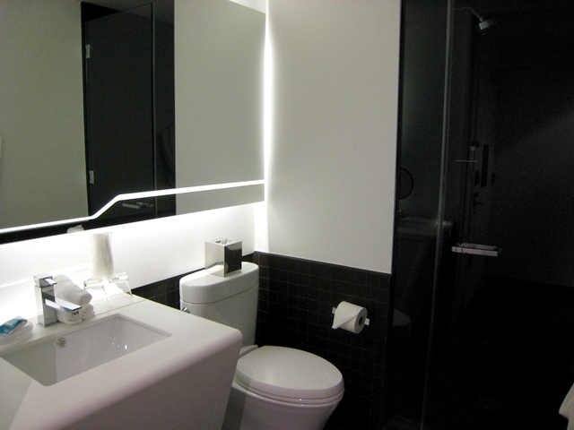 W New York Downtown Hotel Review - Bathroom