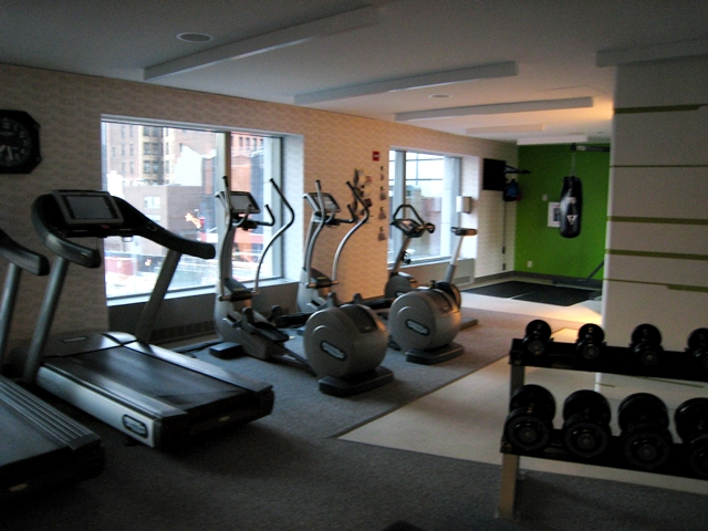 W New York Downtown Hotel Review - Fitness Center