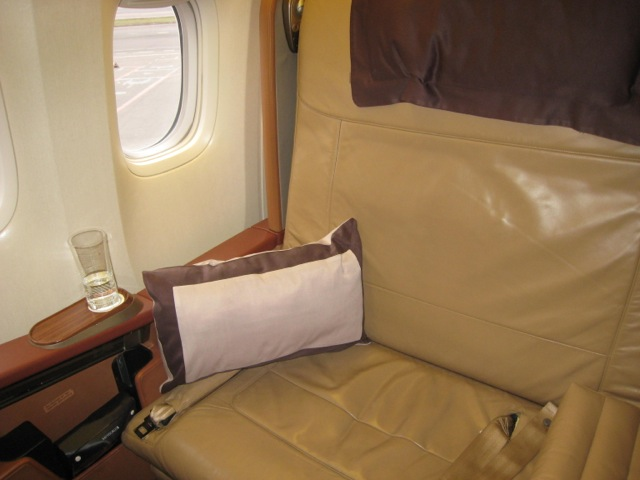Singapore First Class Review